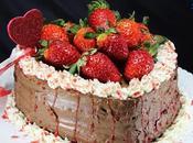 Tarta fresas chocolate