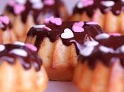 Minibizcochos chocolate