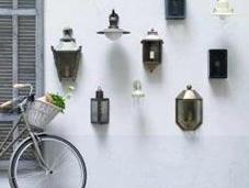 Iluminación para jardín romántico