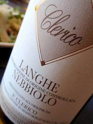 Langhe Nebbiolo 2009 de F. Clerico