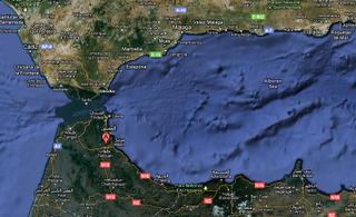 Gibraltar declara su independencia junto a Ceuta y Melilla.