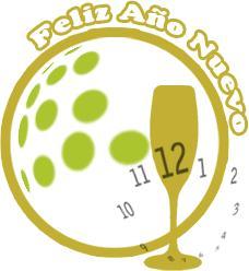etiquetas para felicitar año nuevo