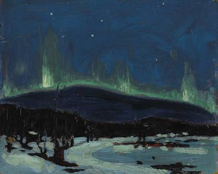 Northern Lights, 1916 by Tom Thomson