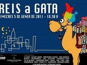 Gata Gorgos. Auto Reyes Magos Reis Gatas 2011