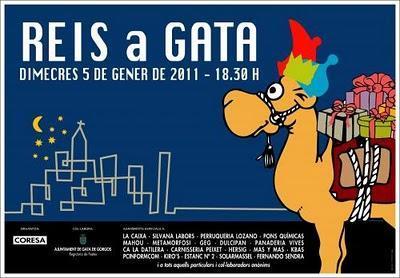 Gata de Gorgos. Auto de los Reyes Magos - Reis a Gatas 2011
