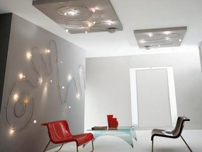 Ideas iluminaci n luces en la pared paperblog - Ideas iluminacion salon ...