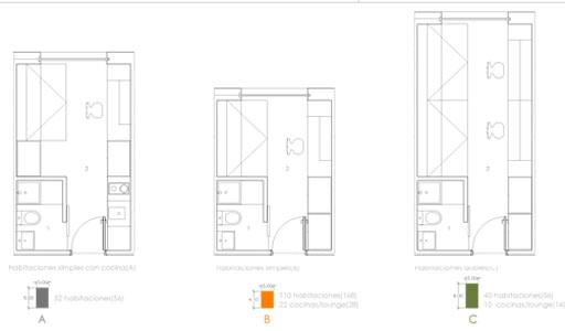 Residencia modular de estudiantes paperblog for Residencia para universitarios