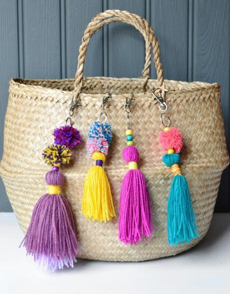 C mo decorar una cesta de mimbre paperblog - Como decorar una cesta de mimbre ...