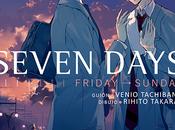 derecha izquierda: Seven Days, Vol. Venio Tachibana Rihito Takarai