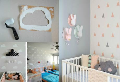 Ideas para decorar las paredes de un dormitorio infantil - Decorar pared infantil ...