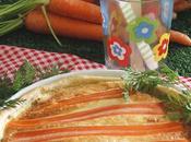 Quiche zanahoria queso cabra