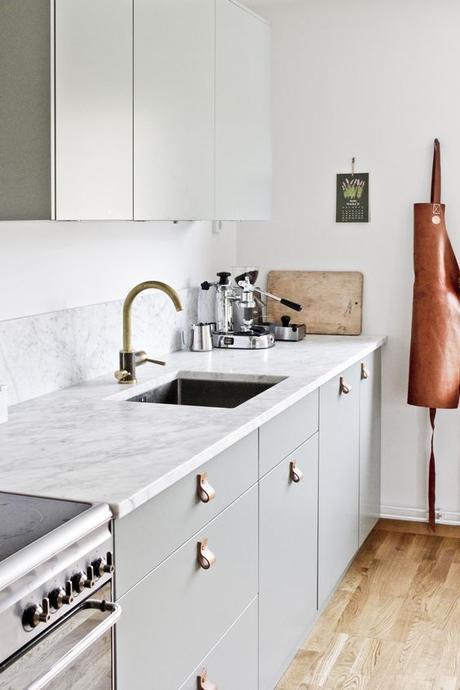 Deco: Cocinas con mármol blanco - Paperblog