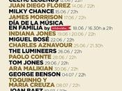 Jardins Pedralbes Barcelona 2016: Joan Baez, Jones, Cranberries, Lumineers, M83, José González...