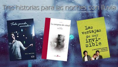 ¡Tres historias para acompañar a la lluvia!