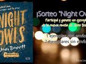 """¡Ganadores sorteo """"Night Owls""""!"""