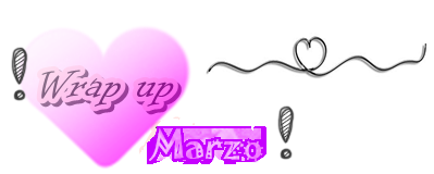 Wrap up marzo