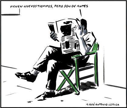 [Humor en domingo] Hoy, sin palabras por descanso del personal. Con viñetas de El Roto