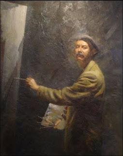 Pintor Amalio García del Moral