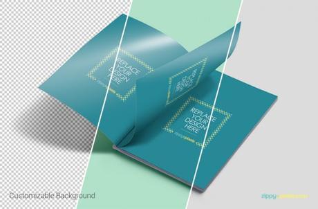 Mockup de revistas impresas en PSD gratis - Paperblog