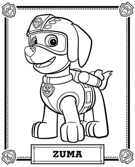 Dibujos Para Colorear Patrulla Canina Paperblog
