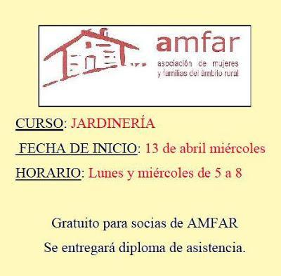 Curso de Jardinería en Chillón