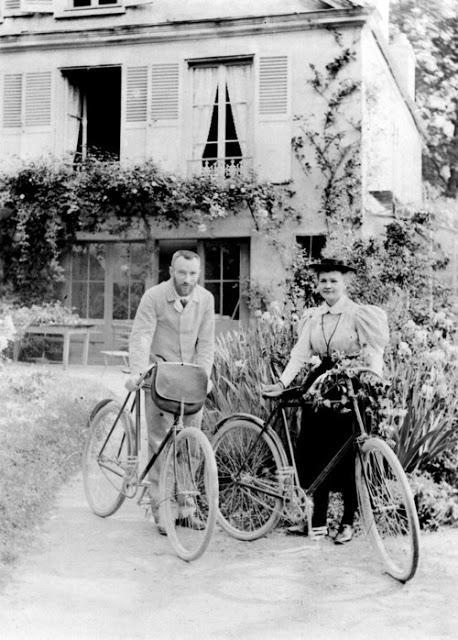 Fotos/imágenes curiosas: Pierre y Marie Curie