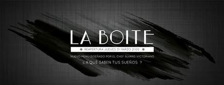 Donde Comer: Reapertura La Boite con nuevo menú de temporada