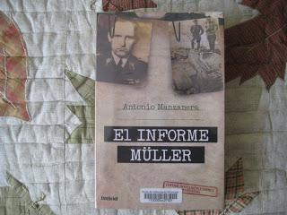 Descubriendo autores españoles. Antonio Manzanera y su El informe Müller
