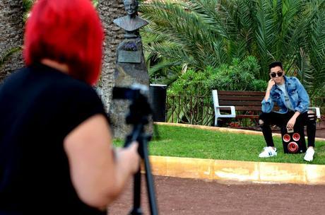 Sesión Fotográfica en el Taoro -Puerto de la Cruz-