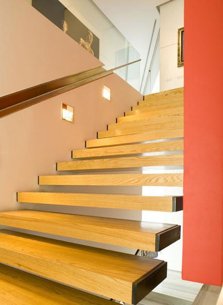 Soluciones de escaleras en proyectos de a cero paperblog for Soluciones para escaleras