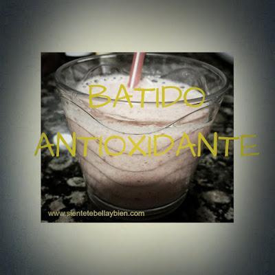Batido Antioxidante para Mejorar la Piel