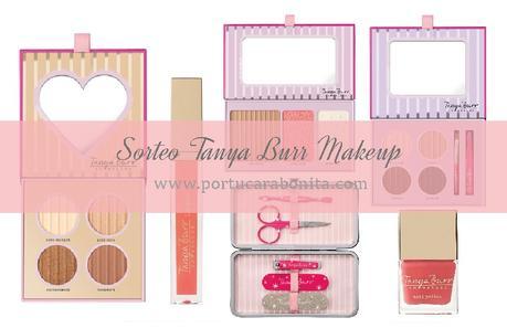 sorteo de primera lote de productos de maquillaje Tanya Burr
