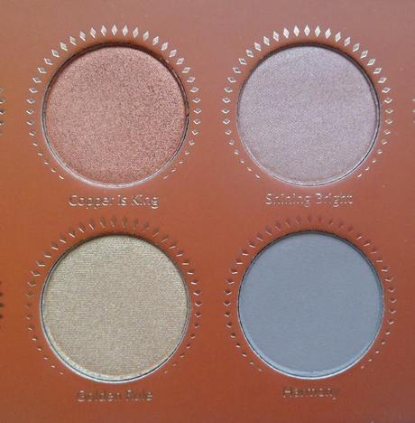 Rose Golden Palette de Zoeva: Review y Swatches