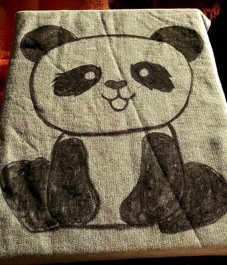 Un panda presumido
