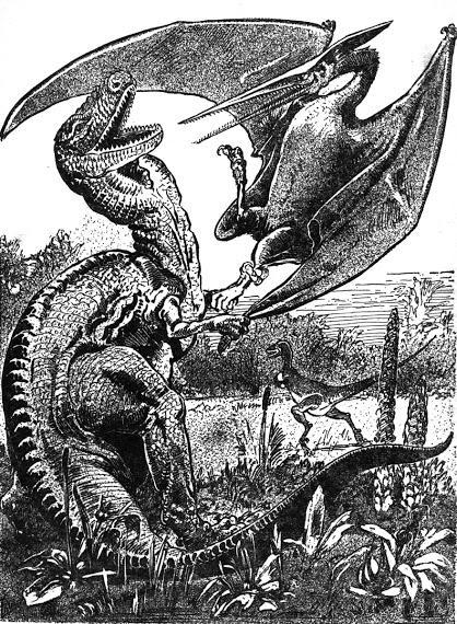 Imaginando dinosaurios III: Pulp Fiction