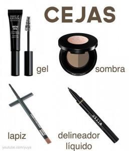 productos para maquillar las cejas
