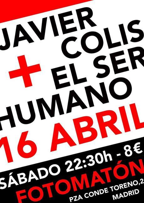 Javier Colis y El ser humano en Fotomatón