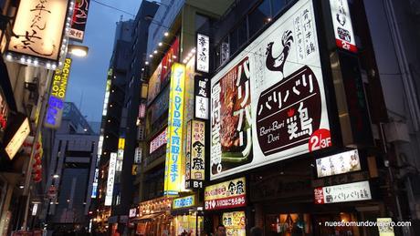 Tokio; la noche de Shinjuku y Kabukicho