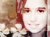"Collage digital personalizado: ""White Flowers"""