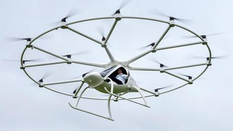Volocopter: El Primer drone de transporte humano se convierte en realidad