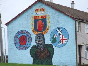 uda mural belfast