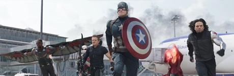 Spot de 'Capitán América: Civil War' con un borroso Spider-Man