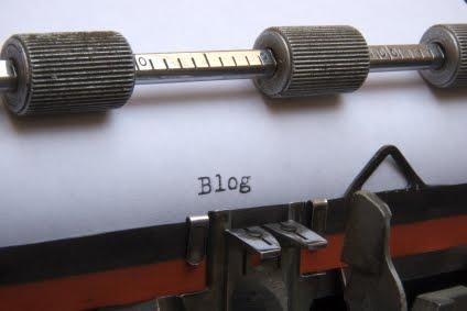 blog-on-typewriter