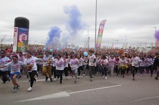 HOLI RUN REUNE A 35.000 RUNNER Y 30 TONELADAS DE COLOR