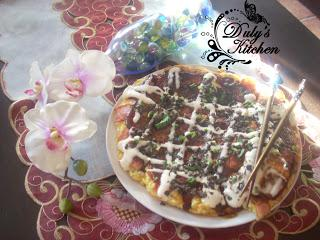 Okonomiyaki -Pizza japonesa-