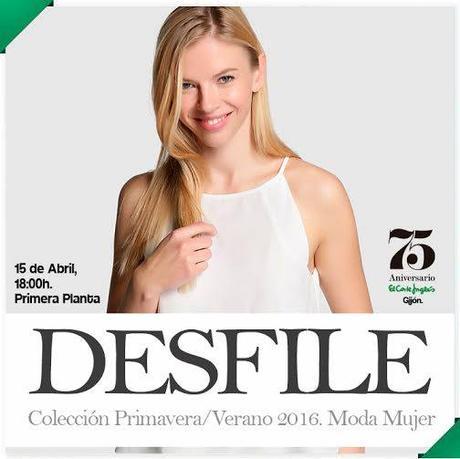 DESFILE MODA MUJER 75 ANIVERSARIO EL CORTE INGLÉS