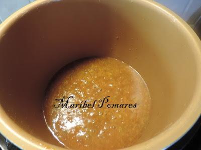 Lomos de merluza en salsa.