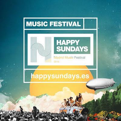 Cancelado el festival madrileño Happy Sundays