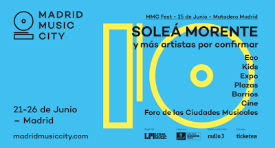 Cambio de fechas y de cartel del festival Madrid Music City 2016