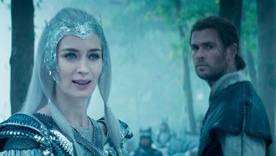 El cazador y la reina de hielo; Una historia de aventuras dentro de un cuento